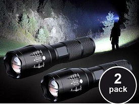 2-Pack Extreme militaire zaklampen