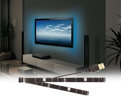 2 Mood Light LED Strips voor de TV