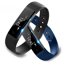 Bluetooth Sport Activity tracker met hartslagmeter