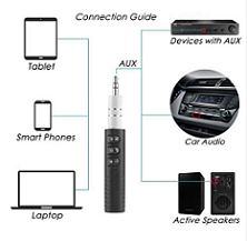 Draadloze Bluetooth Carkit en Audio receiver