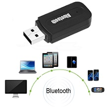 Draadloze USB Bluetooth Audio Adapter