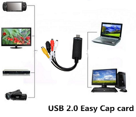 EasyCAP Video Adapter Met Audio