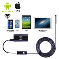 Wifi Endoscoop voor iPhone /Android / Computer
