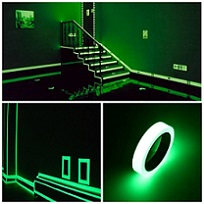 Glow in the dark tape -2 stuks