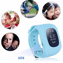 Kids Smart Watch licht Blauw  of Roze