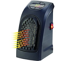 Plug-in Eco Heater met Digitaal Display en Timer